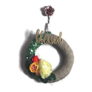 Handcrafted Blessed Floral Wreath